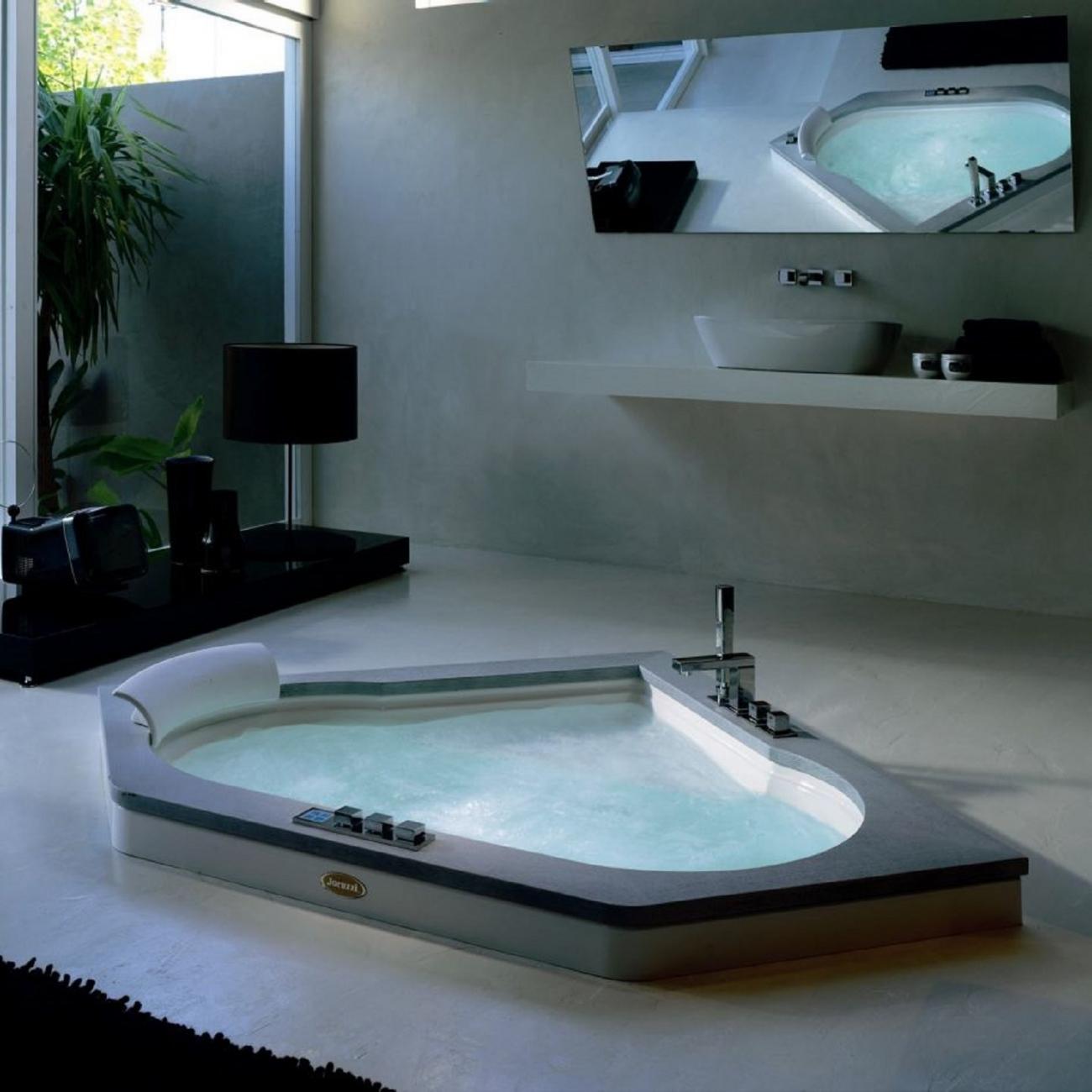 Jacuzzi Whirlpool Bath Jacuzzi.Jacuzzi Aura Corner Stone Whirlpool Bath Tattahome