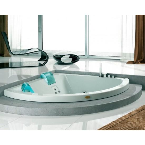 JACUZZI AQUASOUL CORNER WHIRLPOOL BATH