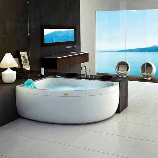 JACUZZI AQUASOUL OFFSET WHIRLPOOL BATH