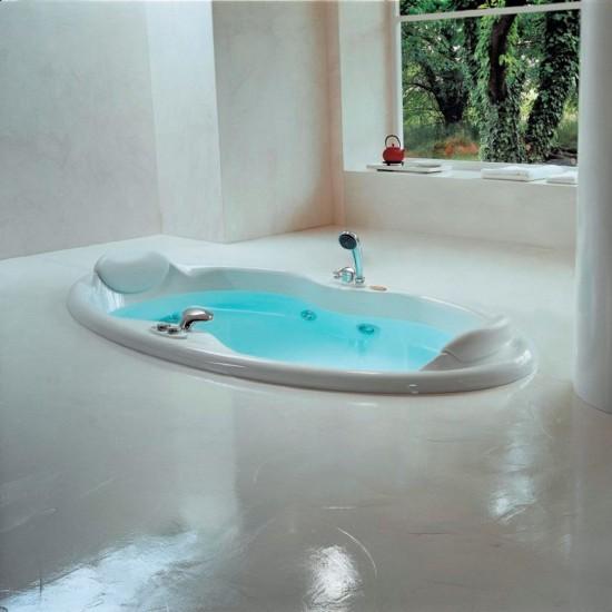 JACUZZI CLASSIC ELIPSA WHIRLPOOL BATH