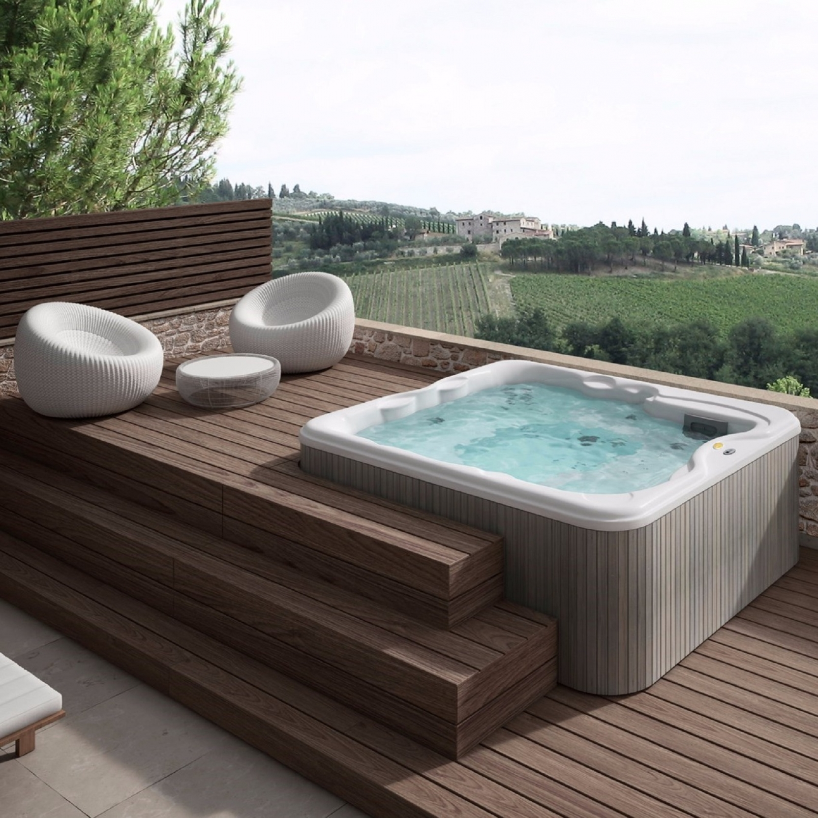 Outdoor Mini Jacuzzi.Jacuzzi Lodge Mini Pool Tattahome