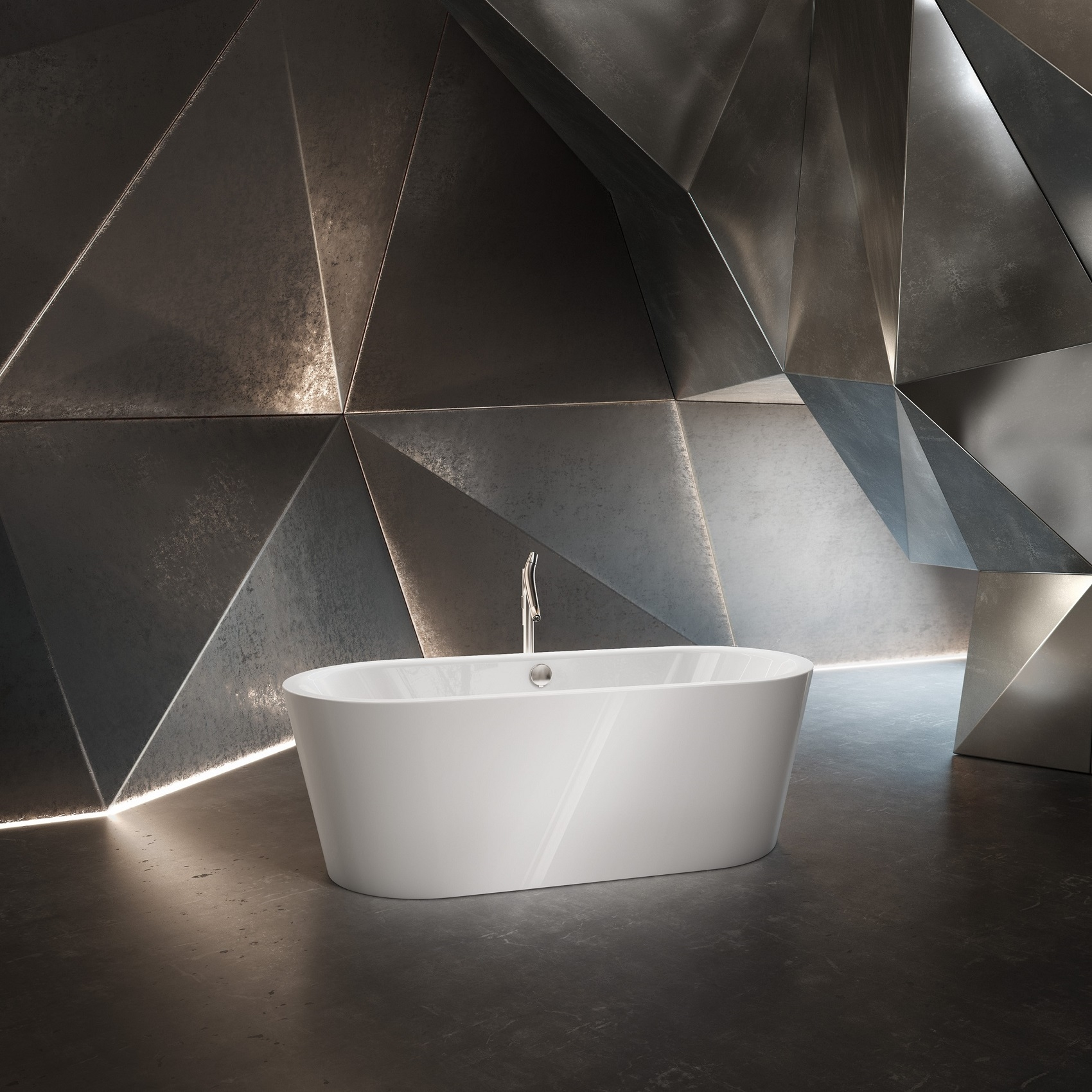 KALDEWEI MEISTERSTÜCK CLASSIC DUO OVAL FREESTANDING BATHTUB ...