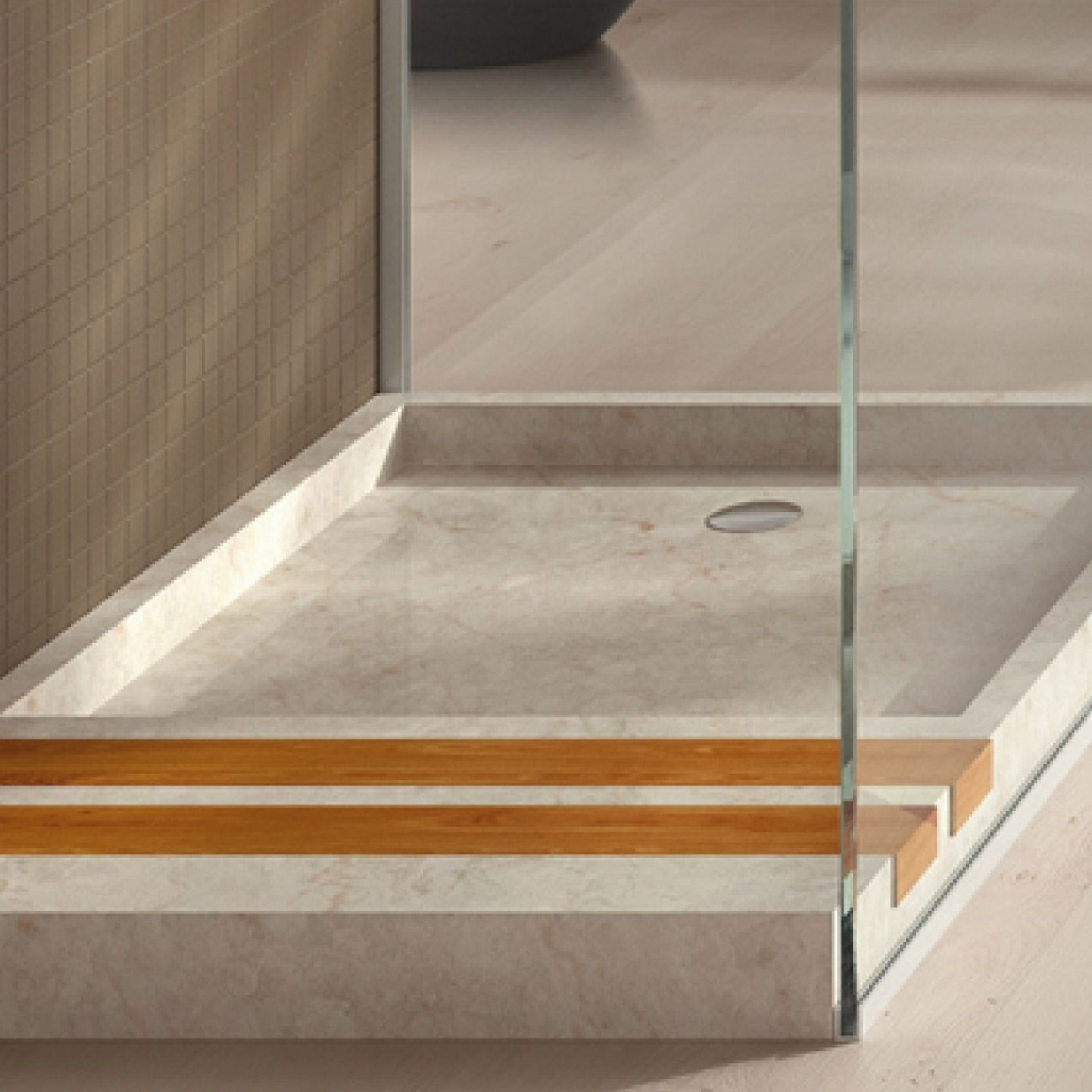 Concrete shower tray ultimate power led flashlight