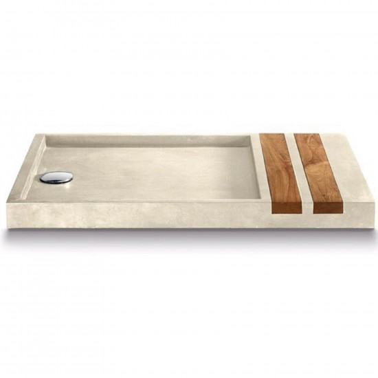 BATHCO STONE SIMI SHOWER TRAY
