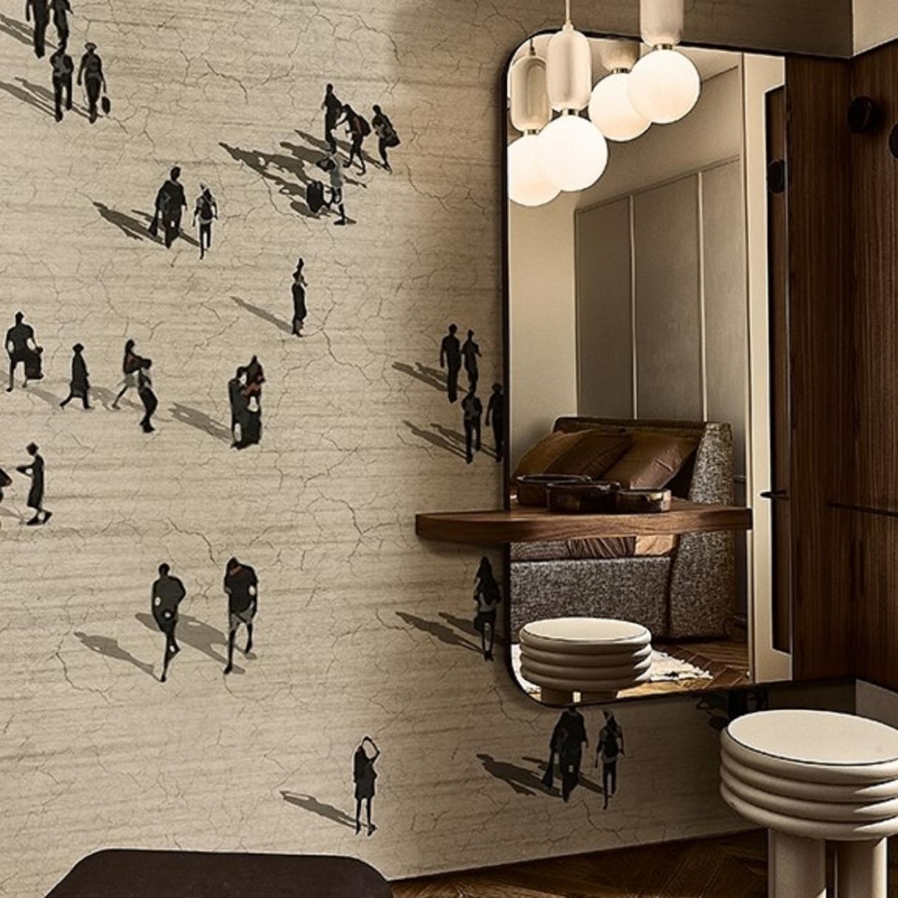 Wall & Decò LA CITTA' FLUIDA WALLPAPER