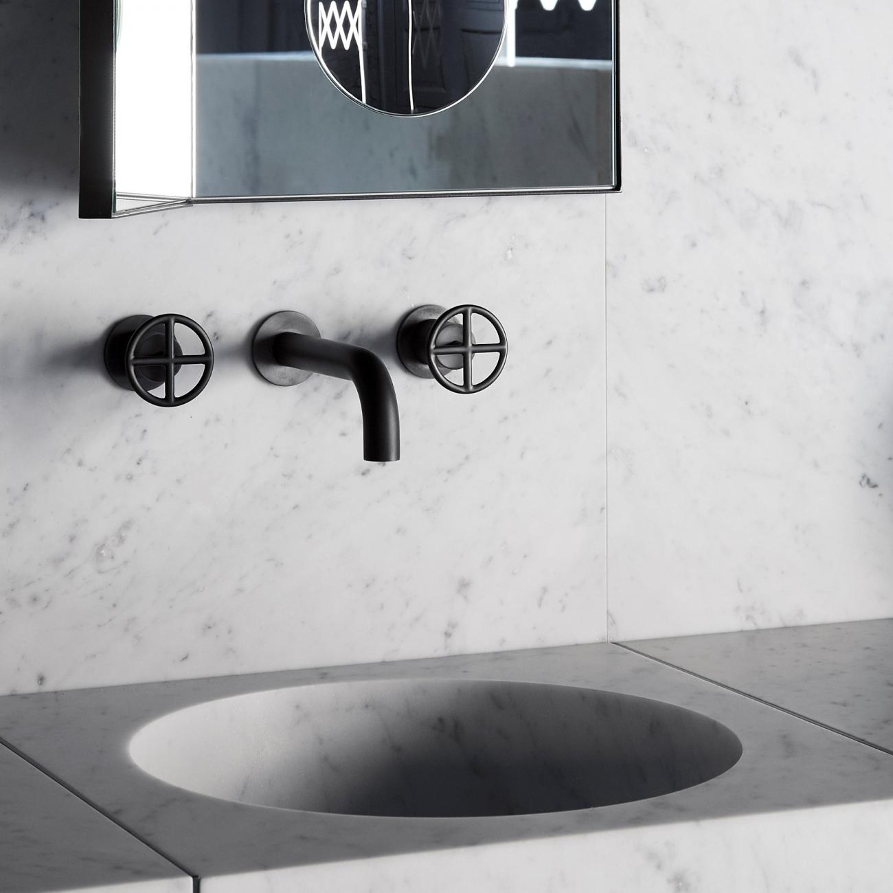 Miscelatore A Muro Per Lavabo fantini fontane bianche miscelatore lavabo da parete - tattahome
