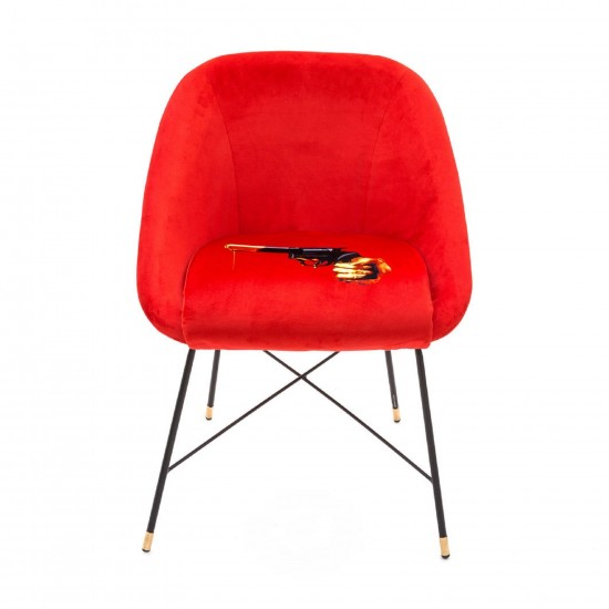 SELETTI TOILETPAPER REVOLVER PADDED CHAIR
