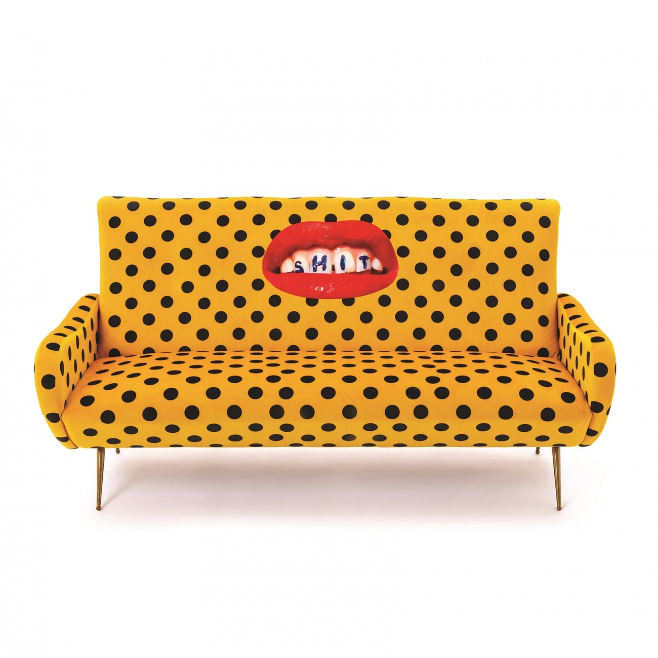 SELETTI TOILETPAPER SHIT 3 SEATER SOFA