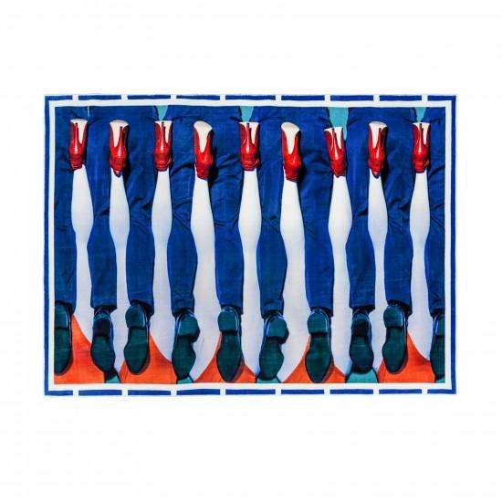 SELETTI TOILETPAPER LEGS RECTANGULAR RUG