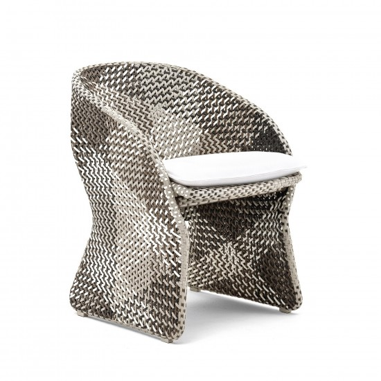 VARASCHIN MAAT ARMCHAIR WITH CUSHION