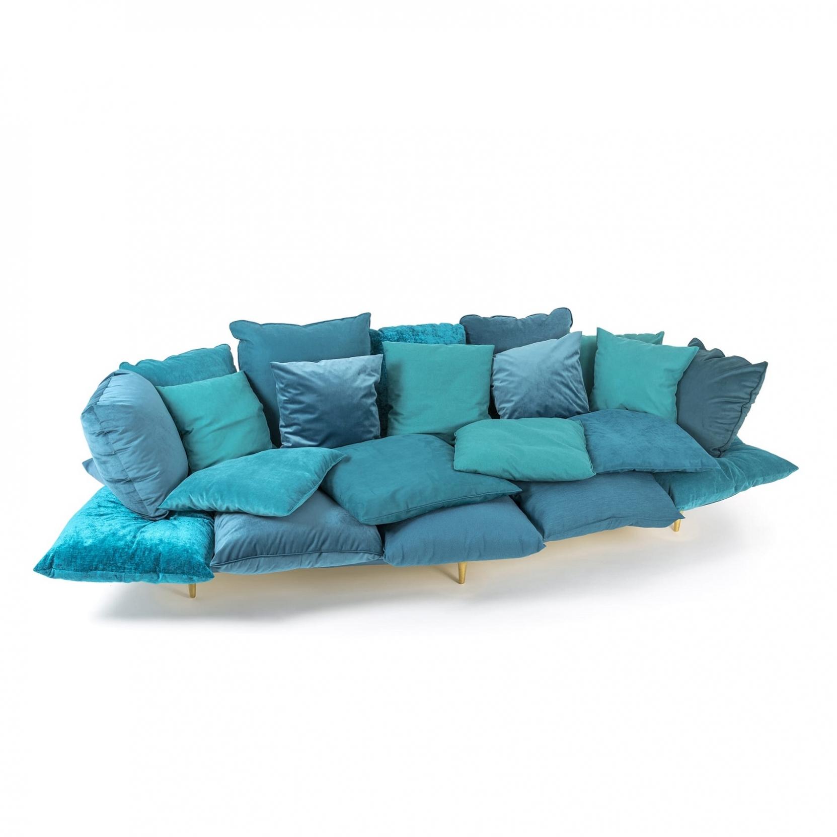 Seletti Comfy Turquoise Sofa Tattahome