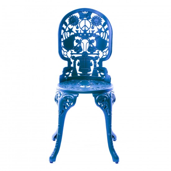 SELETTI INDUSTRY COLLECTION ALUMINUM CHAIR