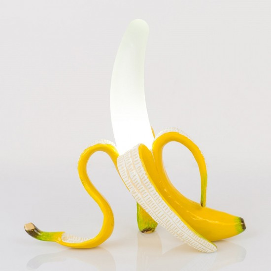 SELETTI BANANA LAMP YELLOW DAISY