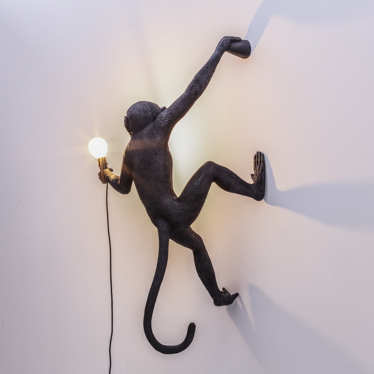 SELETTI THE MONKEY LAMP HANGING RIGHT VERSION