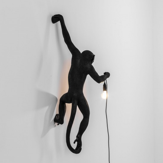 SELETTI THE MONKEY LAMP HANGING LEFT VERSION