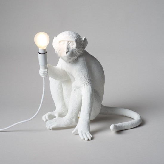 SELETTI THE MONKEY LAMP SITTING VERSION