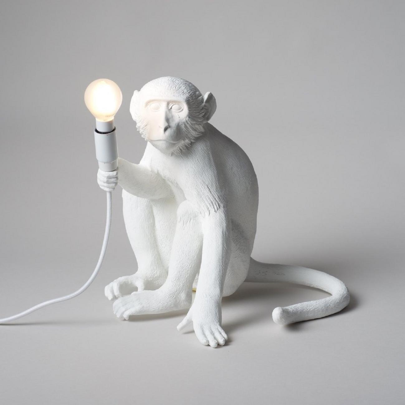 SELETTI THE MONKEY LAMP SITTING VERSION