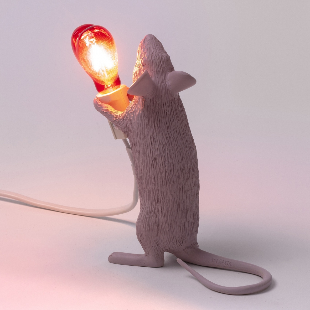 Tattahome Seletti Edition Mouse Lamp Love 5c4Rj3ALq