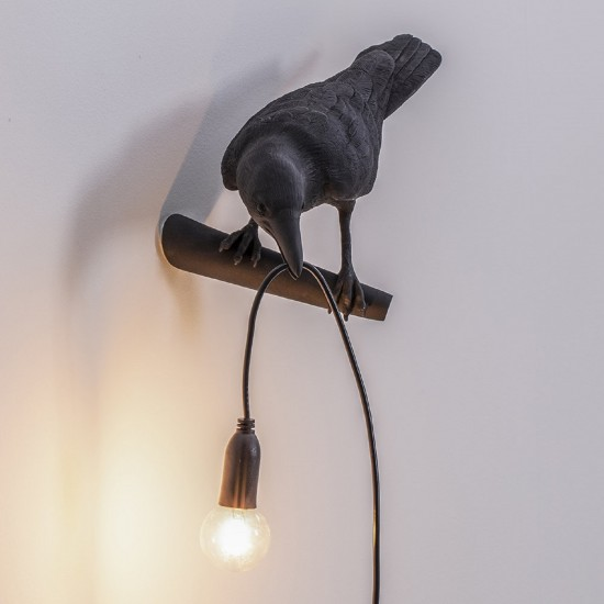 SELETTI BIRD LOOKING LEFT LAMP