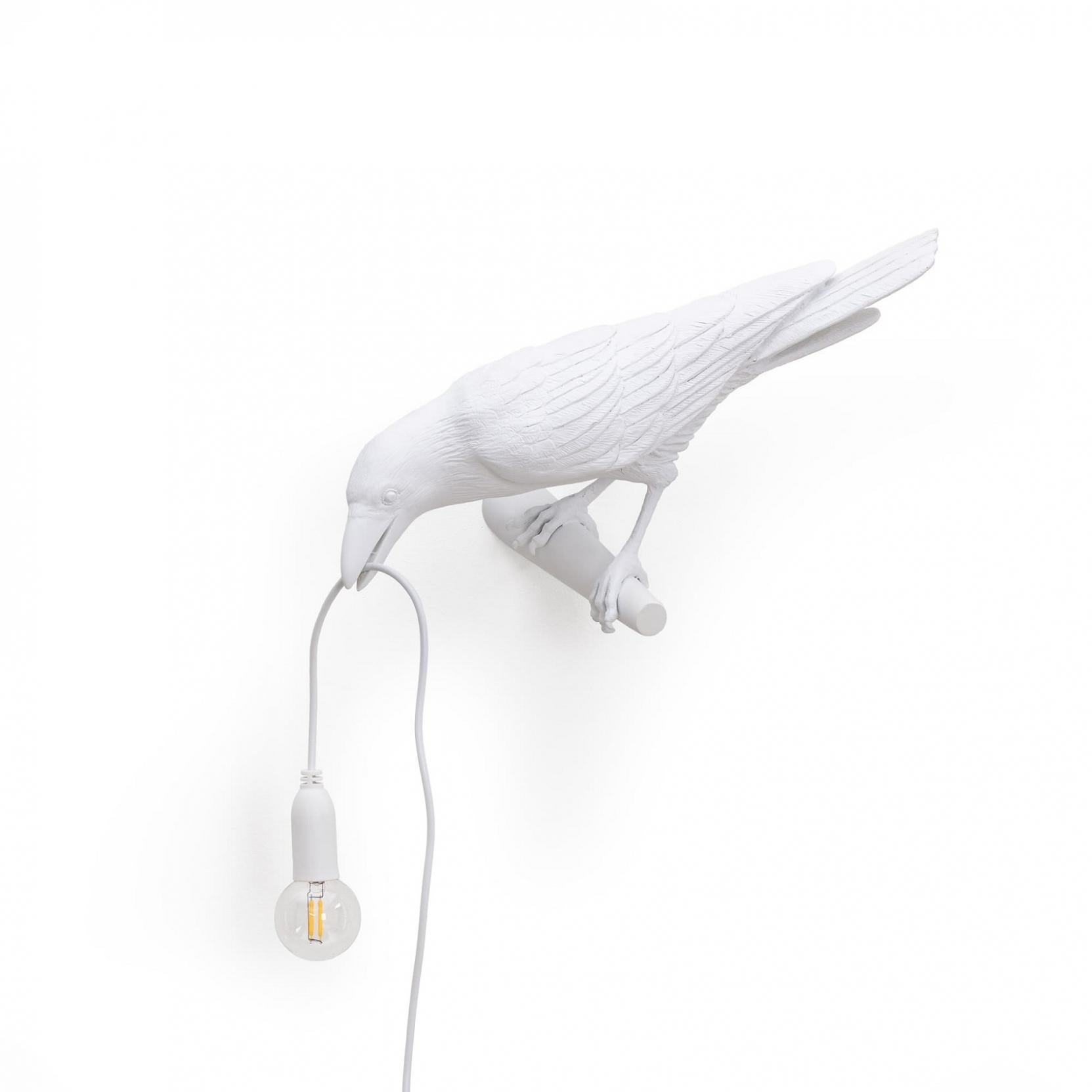 Seletti Bird Looking Left Lamp Tattahome