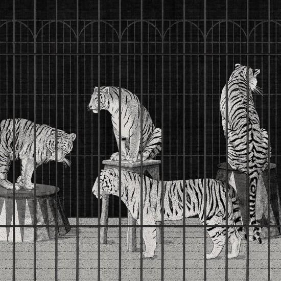 LONDONART TIGERS WALLPAPER