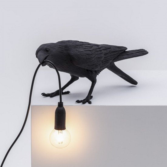 SELETTI BIRD PLAYING LAMP