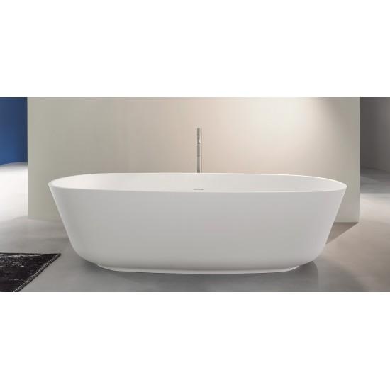 ANTONIO LUPI BAIA OVAL CRISTALPLANT BATHTUB 185X90