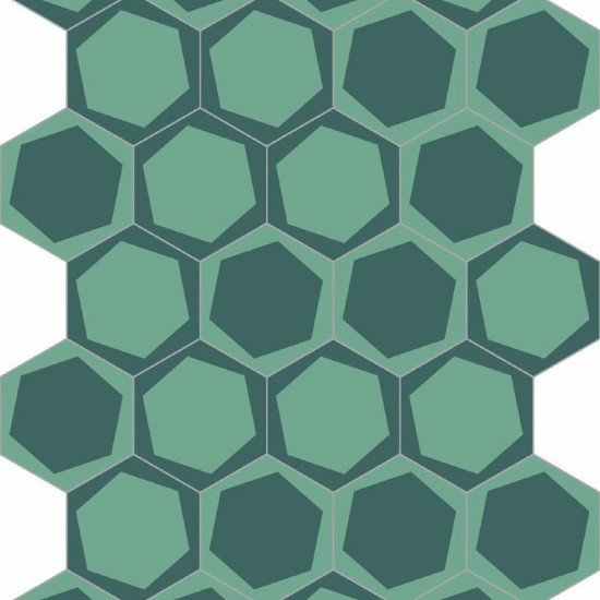 BISAZZA CEMENTILES NAVONE ON OFF TEAL