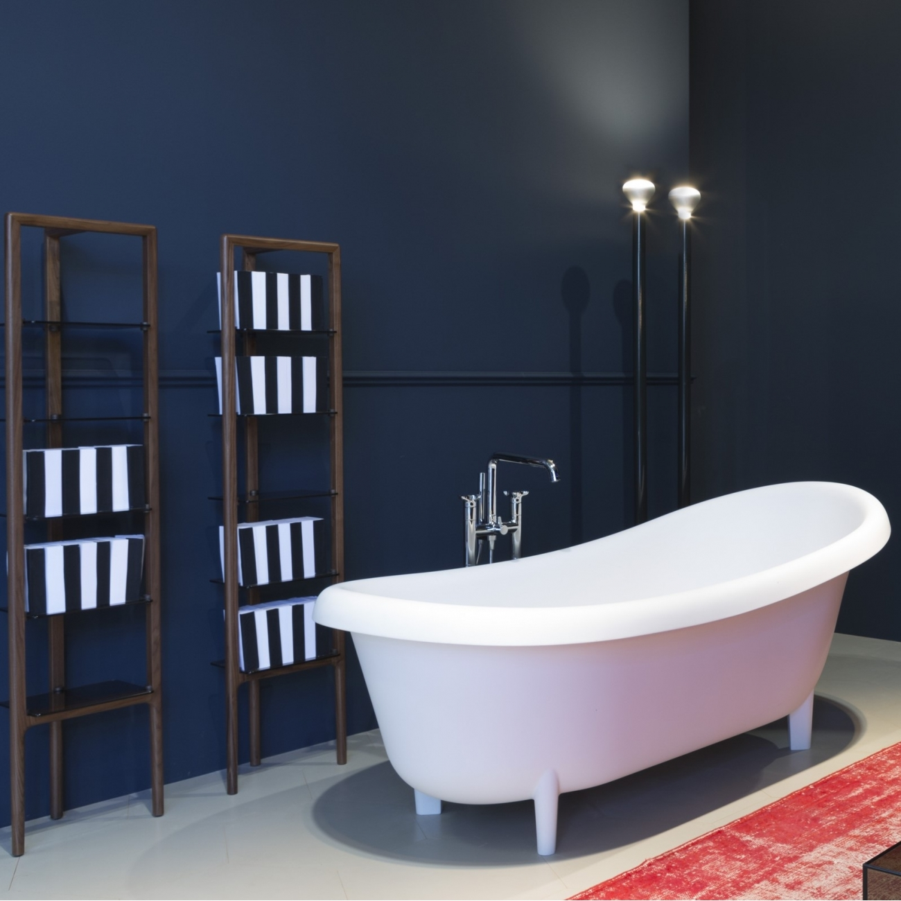 SUITE310 Antonio Lupi Oval Cristalplant Bathtub