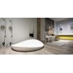 DUNE2 ANTONIO LUPI SEMI ENCASED ROUND CRISTALPLANT BATHTUB