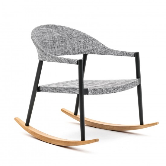 VARASCHIN CLEVER ROCKING LOUNGE ARMCHAIR