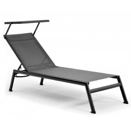 VARASCHIN VICTOR SUNLOUNGER WITH SUNSCREEN