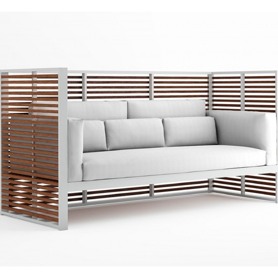 GANDIA BLASCO DNA TEAK NORMANDO SOFA