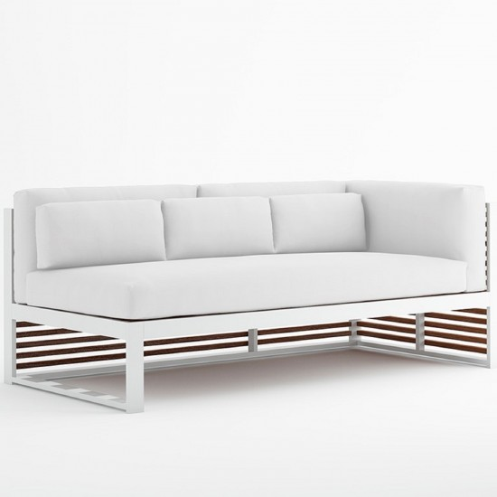 GANDIA BLASCO DNA TEAK SECTIONAL SOFA 1