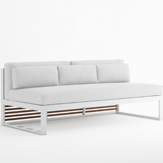 GANDIA BLASCO DNA TEAK SECTIONAL SOFA 4