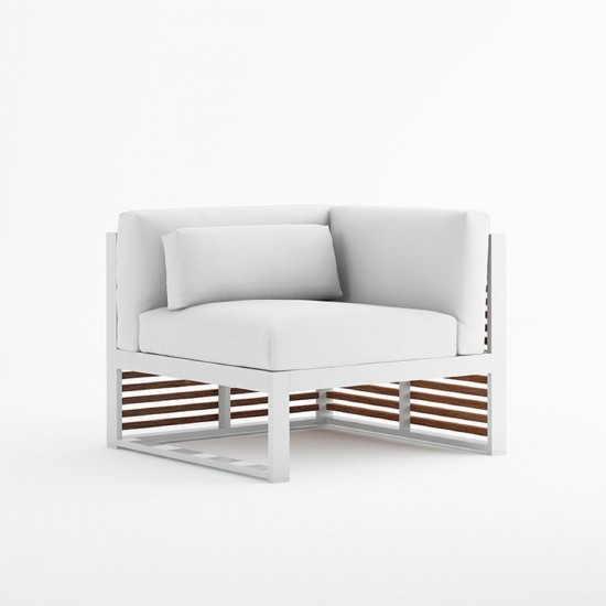 GANDIA BLASCO DNA TEAK SECTIONAL SOFA 6