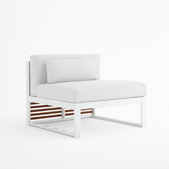 GANDIA BLASCO DNA TEAK SECTIONAL SOFA 3