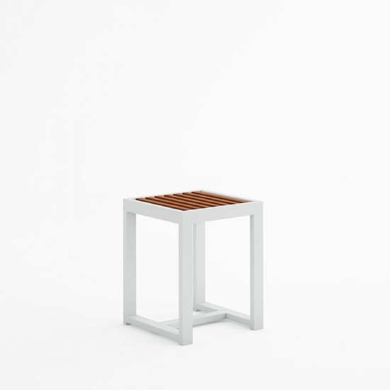 GANDIA BLASCO DNA TEAK LOW STOOL