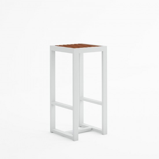 GANDIA BLASCO DNA TEAK HIGH STOOL