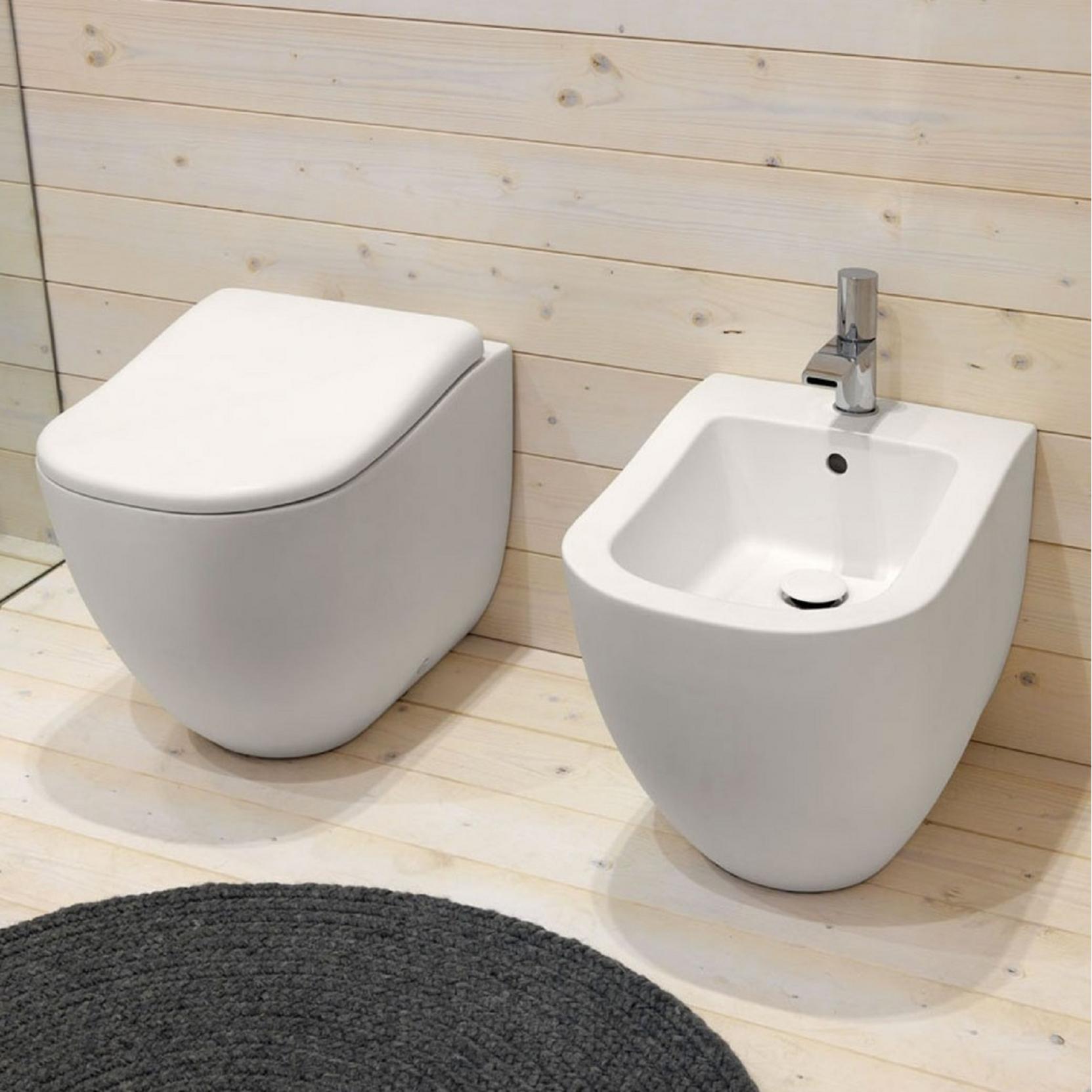Stupendous Cielo Fluid Back To Wall Bidet Tattahome Creativecarmelina Interior Chair Design Creativecarmelinacom