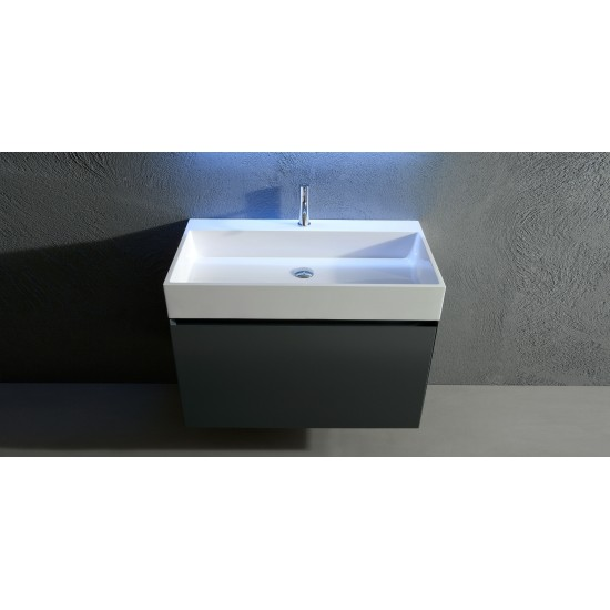 GESTO ANTONIO LUPI  BATHROOM CABINET 90 MATT