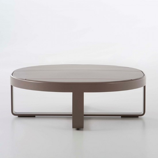 GANDIA BLASCO FLAT ROUND COFFEE TABLE