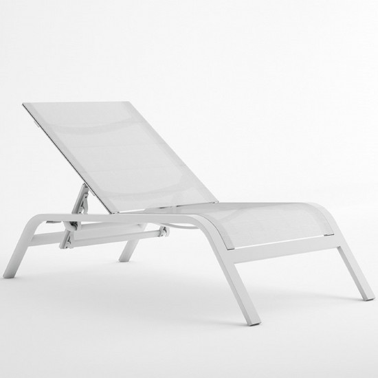 GANDIA BLASCO STACK RECLINING DECKCHAIR