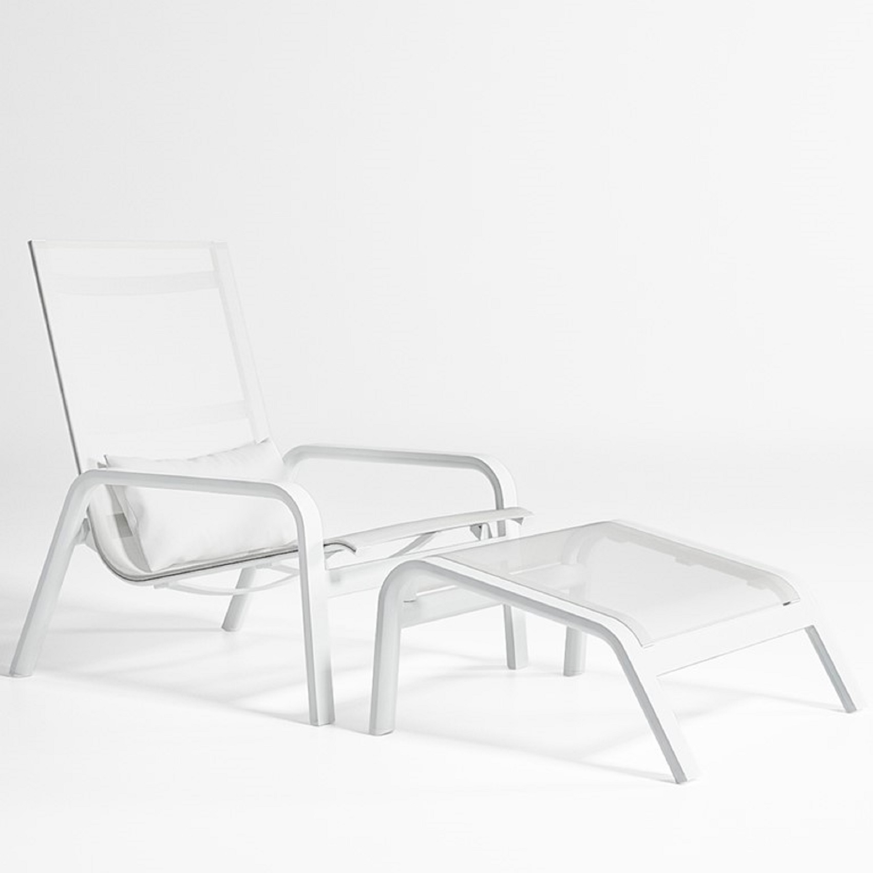 Picture of: Gandia Blasco Stack High Back Lounge Chair Tattahome