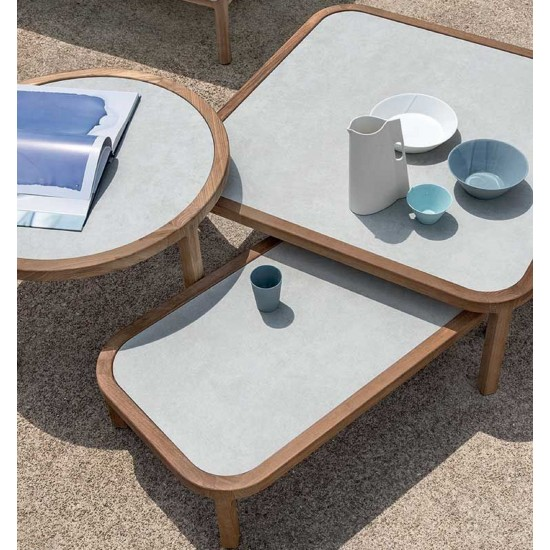 ETHIMO GRAND LIFE SQUARE COFFEE TABLE