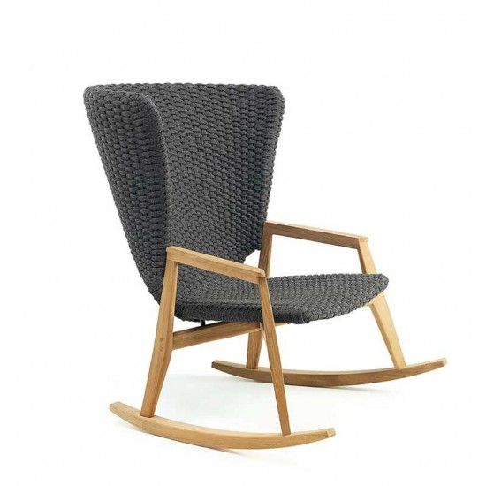 ETHIMO KNIT ROCKING CHAIR