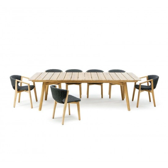 ETHIMO KNIT XL RECTANGULAR TABLE