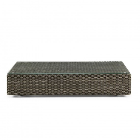 ETHIMO CUBE RECTANGULAR COFFEE TABLE