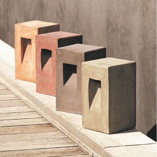 ETHIMO STEP SQUARE PATH LAMP