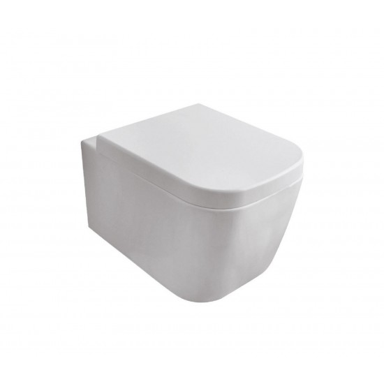 GLOBO STONE 45.37 WALL-HUNG WC NO RIM